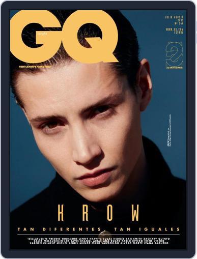 Gq España July 1st, 2019 Digital Back Issue Cover