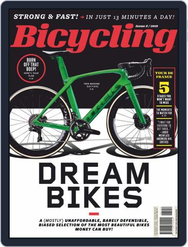 Bicycling South Africa (Digital) July 1st, 2019 Issue Cover