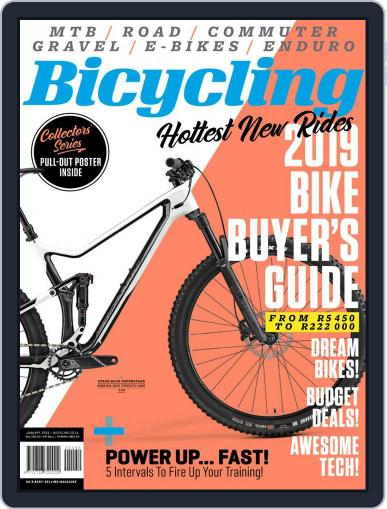 Bicycling South Africa (Digital) January 1st, 2019 Issue Cover
