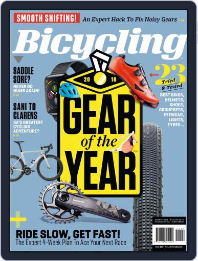 Bicycling South Africa (Digital) December 1st, 2018 Issue Cover