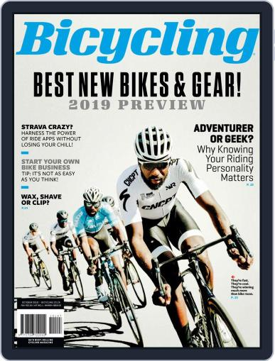 Bicycling South Africa (Digital) October 1st, 2018 Issue Cover