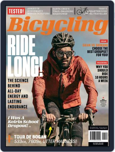 Bicycling South Africa (Digital) September 1st, 2018 Issue Cover