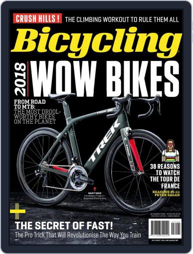 Bicycling South Africa (Digital) July 1st, 2018 Issue Cover