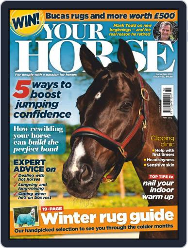 Your Horse (Digital) December 1st, 2019 Issue Cover