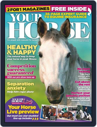 Your Horse (Digital) November 1st, 2019 Issue Cover