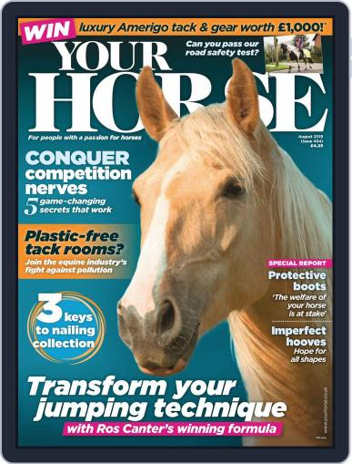 Your Horse (Digital) August 1st, 2019 Issue Cover