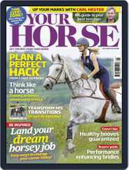 Your Horse (Digital) Subscription September 1st, 2015 Issue