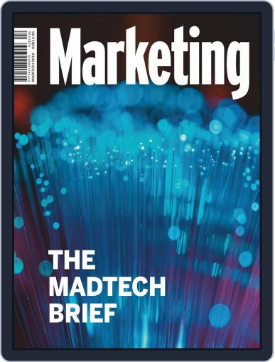 Marketing May 1st, 2019 Digital Back Issue Cover