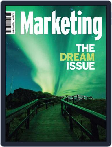 Marketing (Digital) October 1st, 2018 Issue Cover