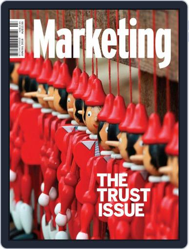 Marketing (Digital) June 1st, 2018 Issue Cover