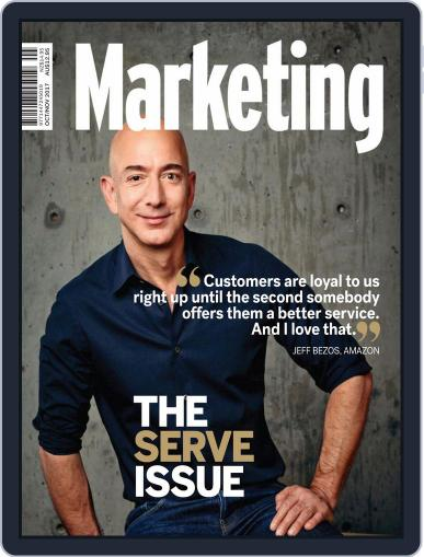 Marketing (Digital) October 1st, 2017 Issue Cover