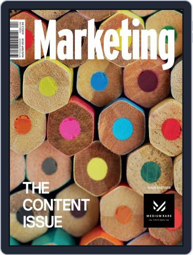 Marketing August 1st, 2016 Digital Back Issue Cover