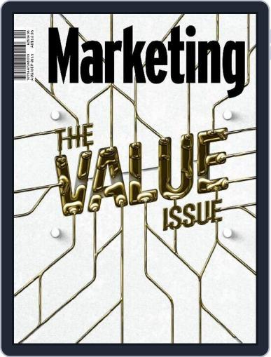 Marketing August 1st, 2015 Digital Back Issue Cover