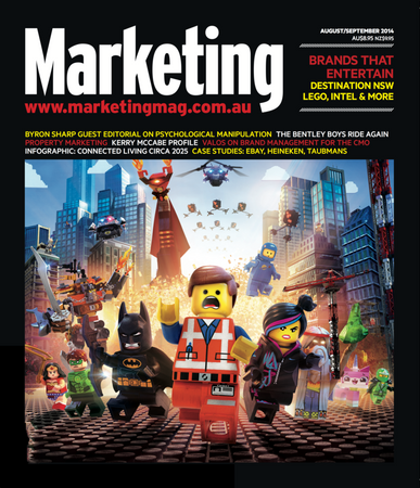 Marketing July 31st, 2014 Digital Back Issue Cover