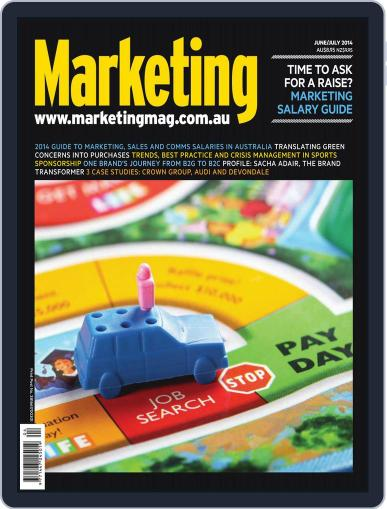 Marketing June 4th, 2014 Digital Back Issue Cover