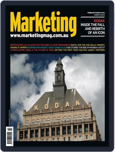 Marketing February 20th, 2014 Digital Back Issue Cover