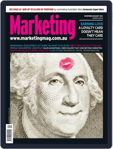 Marketing December 11th, 2013 Digital Back Issue Cover