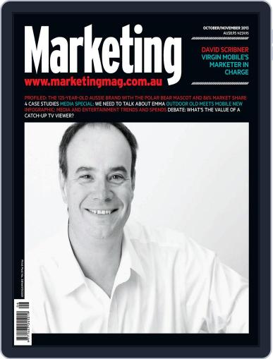 Marketing October 9th, 2013 Digital Back Issue Cover