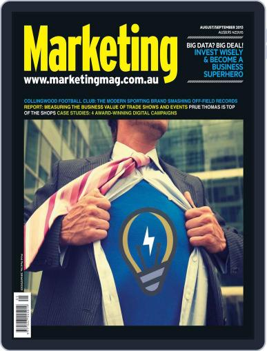 Marketing July 30th, 2013 Digital Back Issue Cover