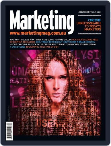 Marketing May 30th, 2013 Digital Back Issue Cover