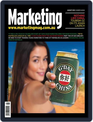 Marketing July 31st, 2012 Digital Back Issue Cover