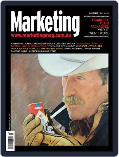 Marketing March 11th, 2012 Digital Back Issue Cover