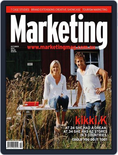Marketing September 30th, 2011 Digital Back Issue Cover