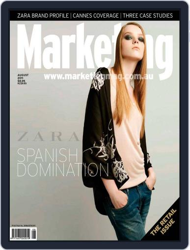 Marketing July 26th, 2011 Digital Back Issue Cover