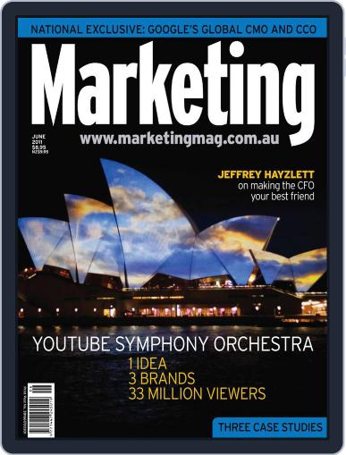 Marketing May 30th, 2011 Digital Back Issue Cover