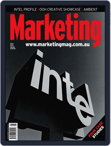 Marketing April 28th, 2011 Digital Back Issue Cover