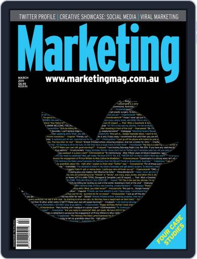 Marketing March 13th, 2011 Digital Back Issue Cover