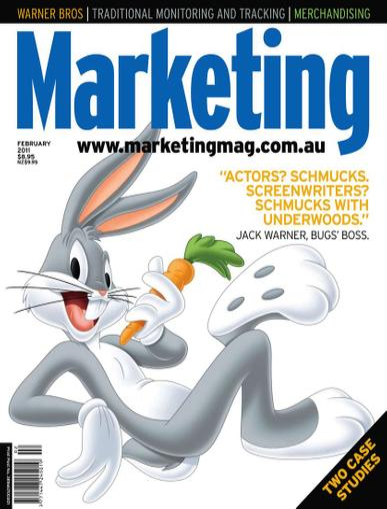 Marketing February 1st, 2011 Digital Back Issue Cover