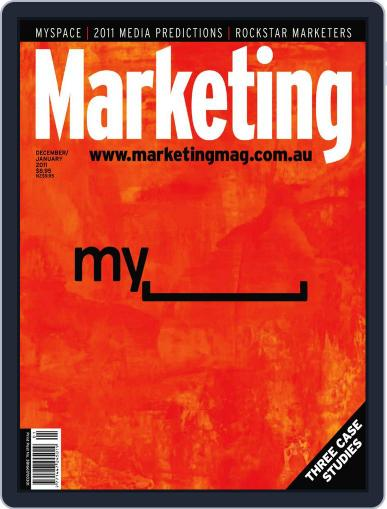 Marketing December 19th, 2010 Digital Back Issue Cover