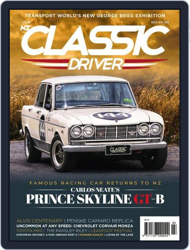 Classic Driver March 1st, 2020 Digital Back Issue Cover