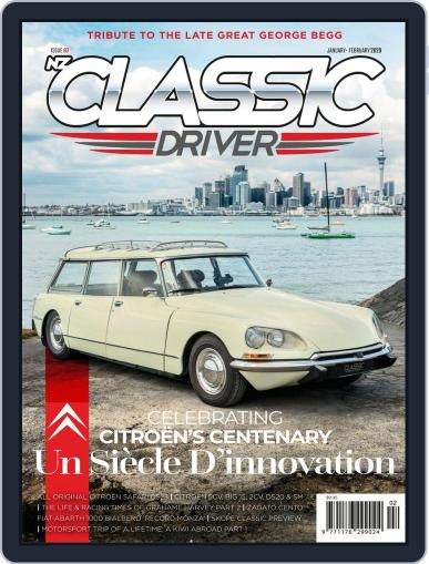 Classic Driver (Digital) January 1st, 2020 Issue Cover