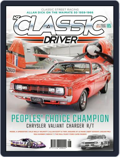 Classic Driver July 1st, 2019 Digital Back Issue Cover