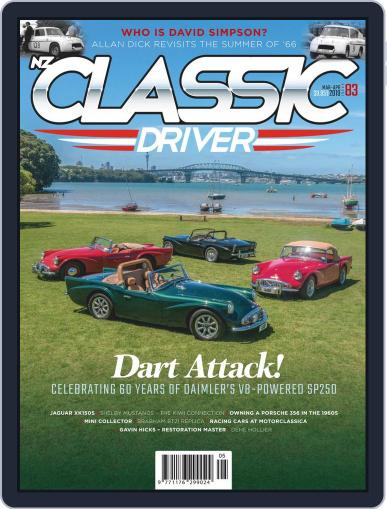 Classic Driver March 1st, 2019 Digital Back Issue Cover