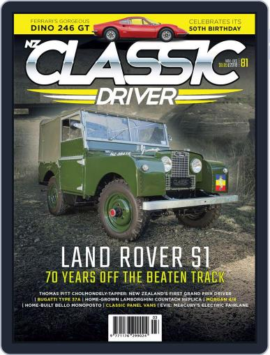 Classic Driver November 1st, 2018 Digital Back Issue Cover