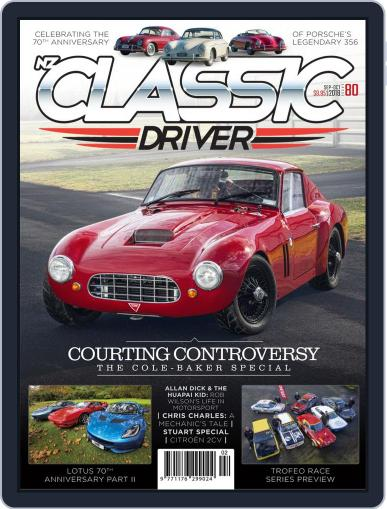 Classic Driver September 1st, 2018 Digital Back Issue Cover