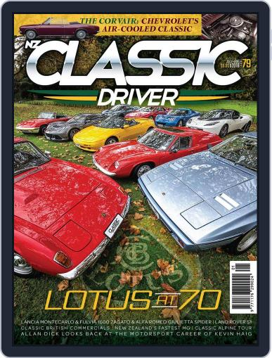 Classic Driver (Digital) July 1st, 2018 Issue Cover