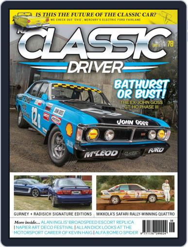 Classic Driver May 1st, 2018 Digital Back Issue Cover