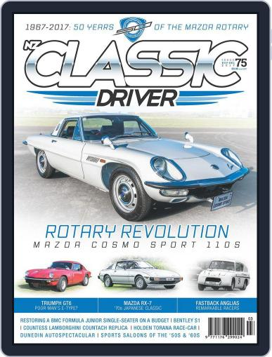 Classic Driver (Digital) November 1st, 2017 Issue Cover