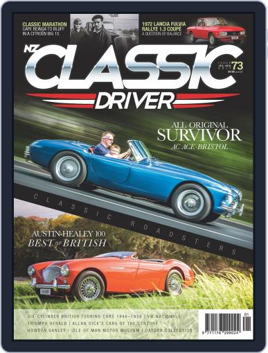 Classic Driver July 1st, 2017 Digital Back Issue Cover