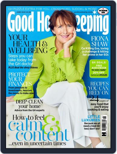 Good Housekeeping UK June 1st, 2020 Digital Back Issue Cover