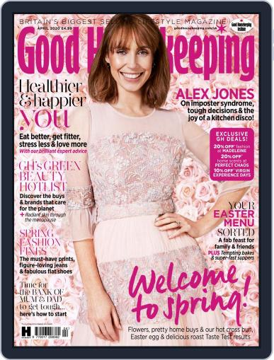 Good Housekeeping UK April 1st, 2020 Digital Back Issue Cover