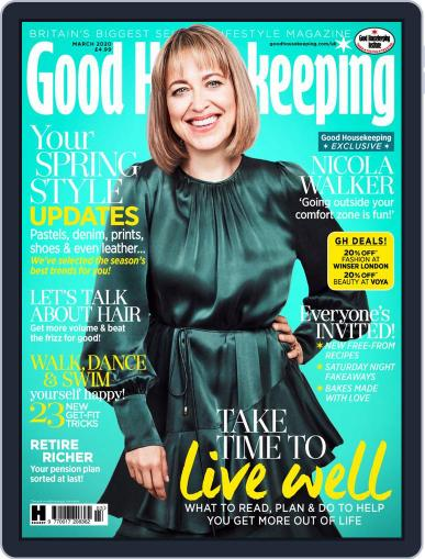 Good Housekeeping UK March 1st, 2020 Digital Back Issue Cover