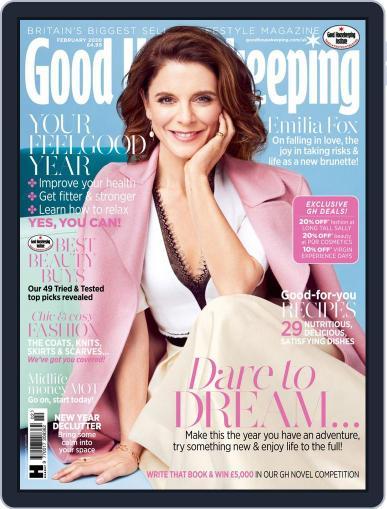 Good Housekeeping UK February 1st, 2020 Digital Back Issue Cover