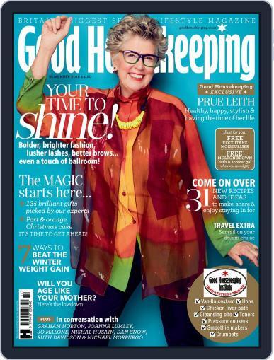 Good Housekeeping UK November 1st, 2018 Digital Back Issue Cover