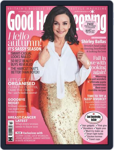 Good Housekeeping UK October 1st, 2018 Digital Back Issue Cover