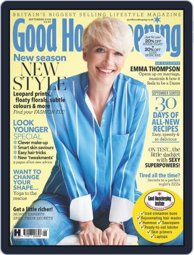 Good Housekeeping UK September 1st, 2018 Digital Back Issue Cover